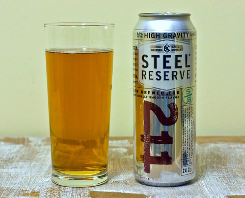 Review: Steel Reserve 211 by Cody La Bière