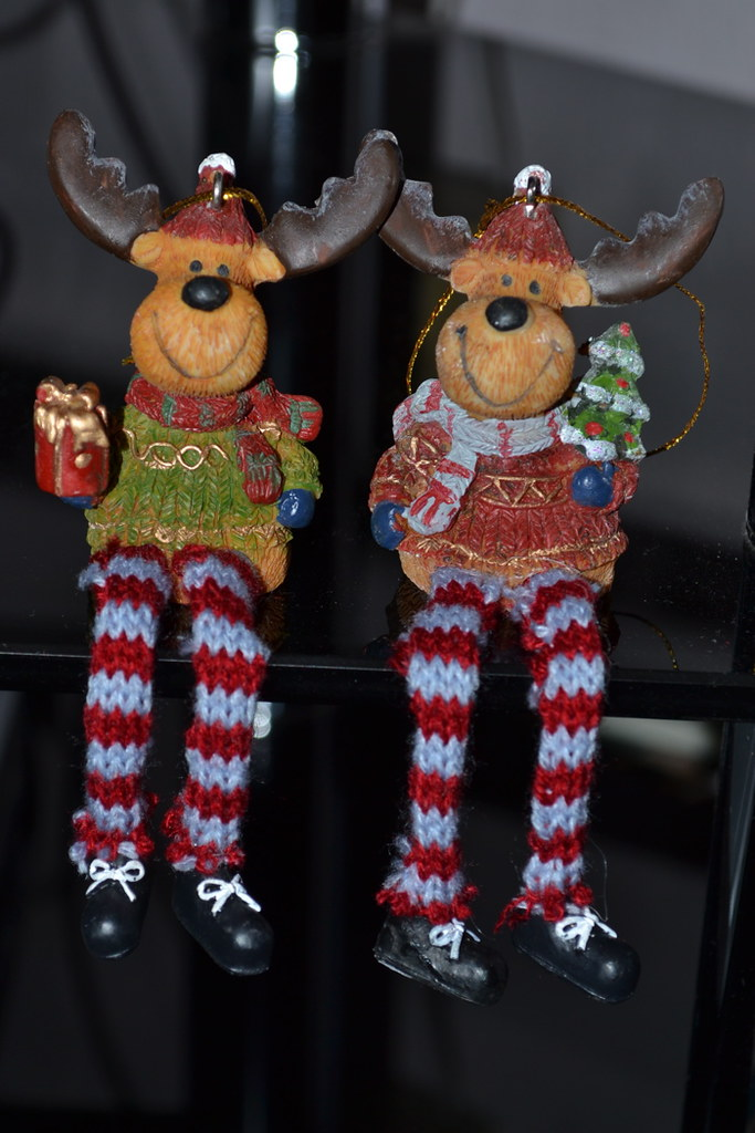 MOOSE CHRISTMAS DECORATION. CHRISTMAS DECORATION