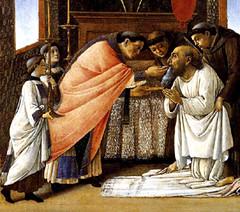 Botticelli (+1510), Comunión de San Jerónimo
