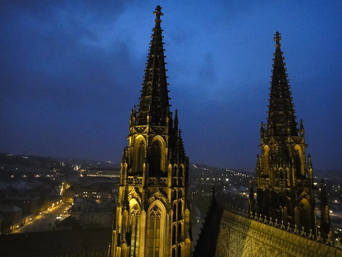 prague castle twin steeples by pambot415