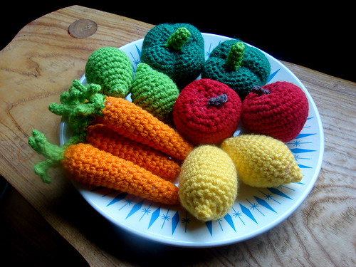 Crocheted Fruit & Veggies