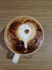 Today's latte, Google Places.