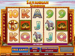 Spiele Savannah Sunrise - Video Slots Online