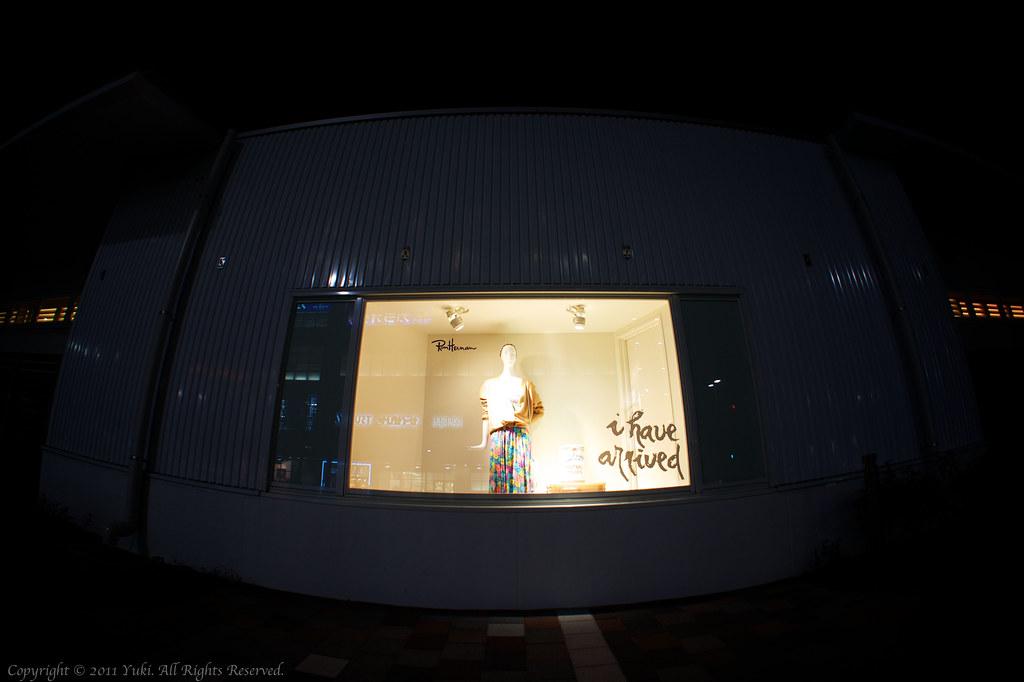 a store window