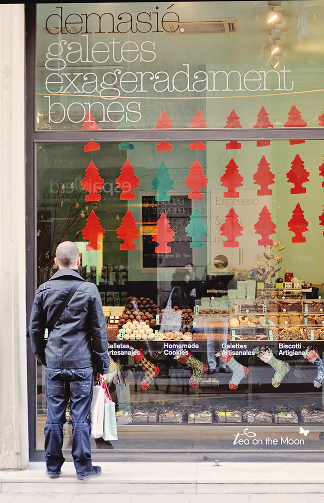 Escaparate Barcelona Navidad 5