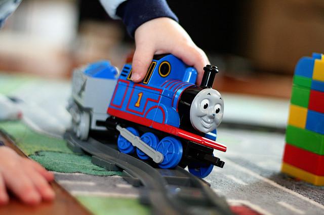 A Boy & His Trains