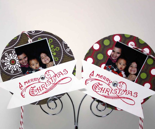 Picture gift tags