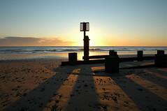 Lowestoft beach awakes December 18 2011