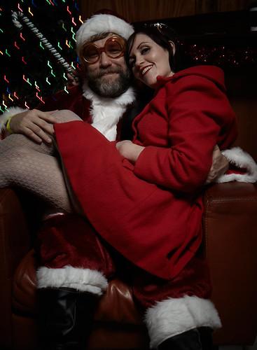 Indie Rock Santa John Roderick / Holiday Party Photo Booth