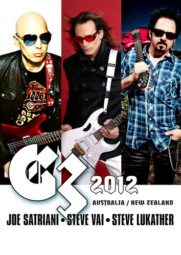 G3 2012 / JOE SATRIANI, STEVE VAI, STEVE LUKATHER