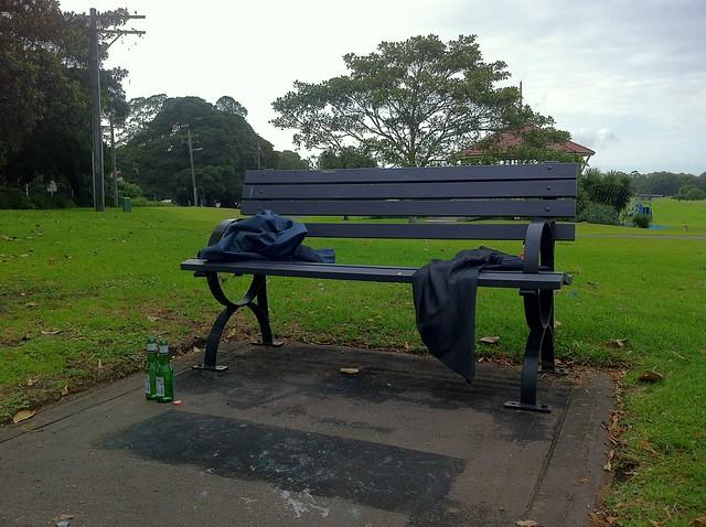 Korean Memorial Park Bench Bar A Photo On Flickriver