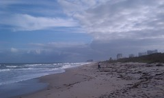 Avalon Beach on North Hutchinson Island