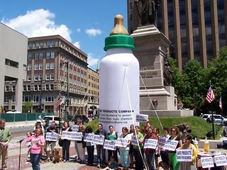 Portland protests BPA
