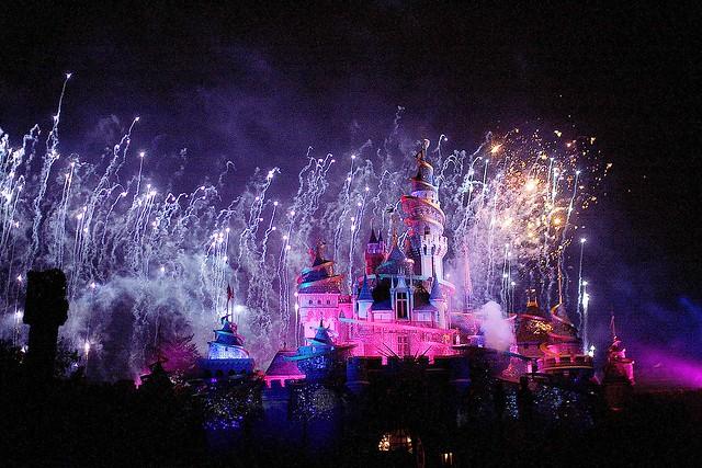 Hong Kong Disneyland - fireworks