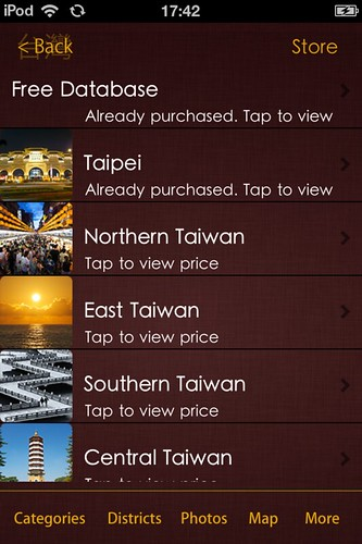 Taiwan Adventures Guide for iPod and iPhone