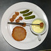 Post image for [4th course] Poor man's Cristmas Eve dinner: Breaded corned beef and mortadella with fake cheese fondue