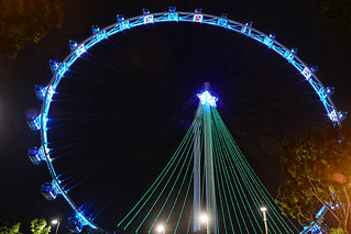 Enjoy the 360 degree panoramic views of Singapore from Singapore Flyer - Things to do in Singapore