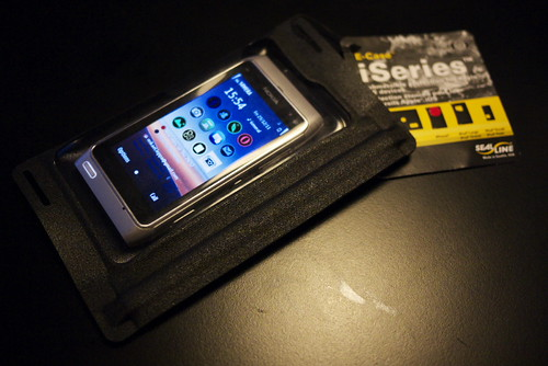 Seal Line Waterproof Phone Pouch by Rollofunk