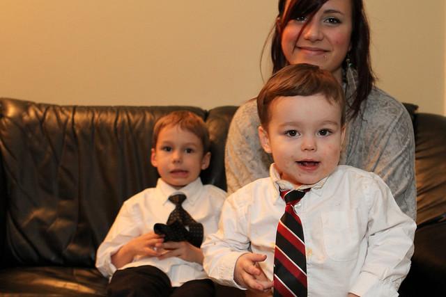 Cravates et Tatie