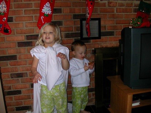 Dec 24 2011 The Nativity Shanna and Elden