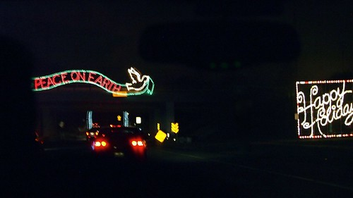 xmas light display