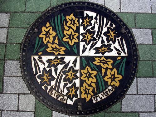Izumi Osaka manhole cover2 (大阪府和泉市のマンホール2)