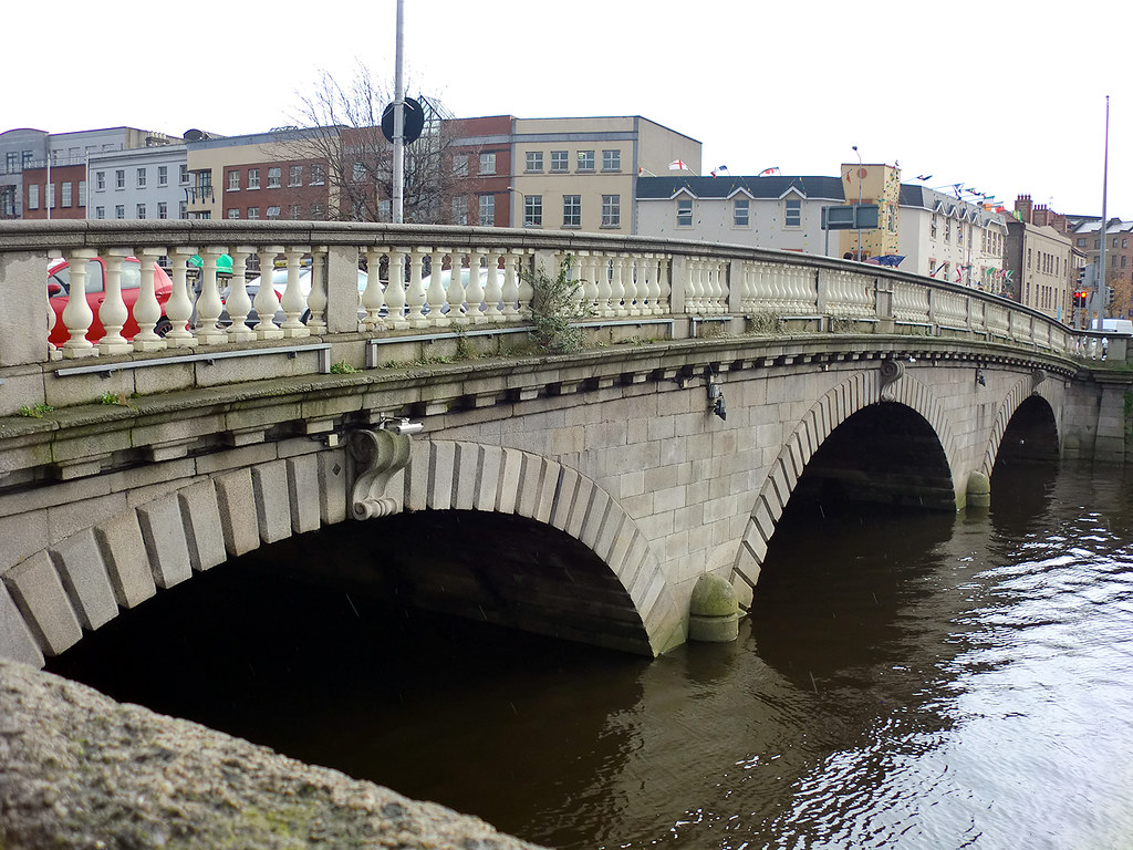River Liffey - Dublin, Ireland.