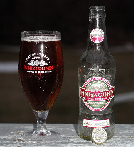 Innis & Gunn Spiced Rum Finish by Cody La Bière