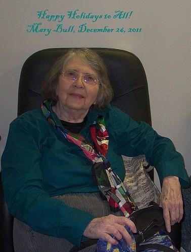 Mary Bull, December 26, 2011