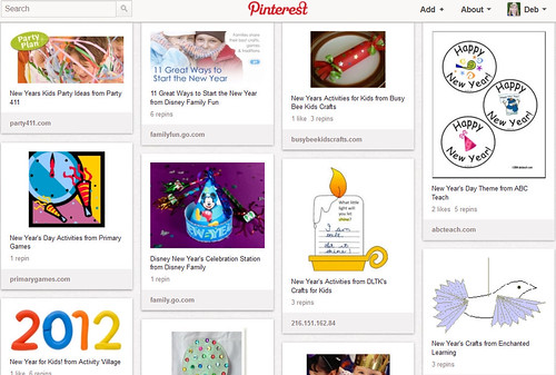 Pinterest - Kid's New Year's Activities