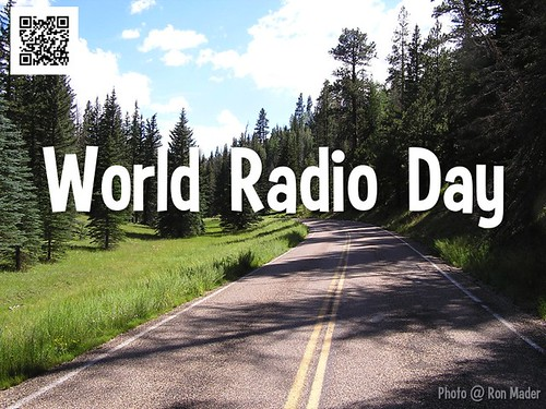 What's on your playlist? February 13 is World Radio Day #worldradioday @WorldRadioDay @UNESCO