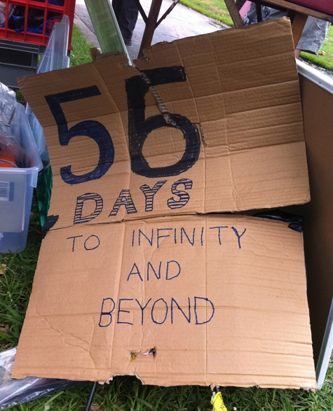 56 Days (to infinity and beyond)