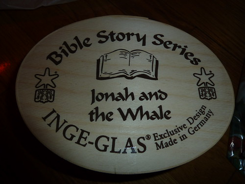 Jonah and the Whale Fancy Box