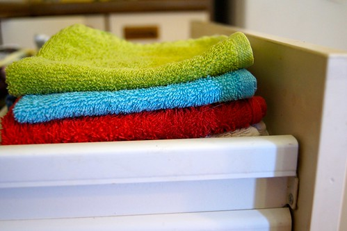 School Holiday Tips - small hand cloths