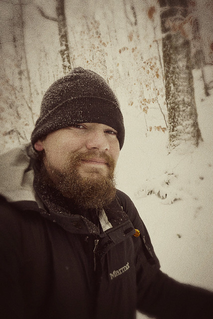Appalachian Trail, Backpacking, hiking, camping, nature, photography, snow, beard