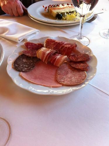 Olot | Restaurant La Deu | Parte mixta de una ensalada mixta