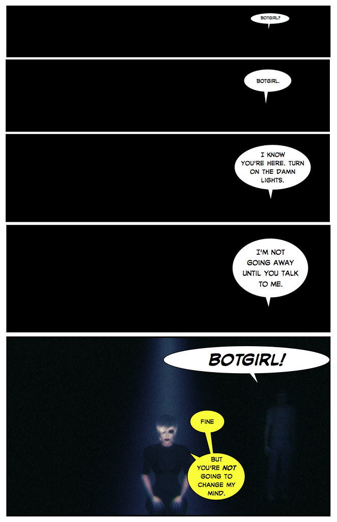The Death of Botgirl Questi - Page 1