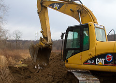 Caterpillar Track Hoe