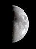 First and Last Quarter Moon by Kevin's Stuff