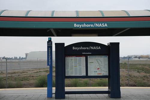 Bayshore/NASAの駅