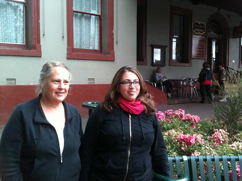 Kim Cofino and me at Healesville