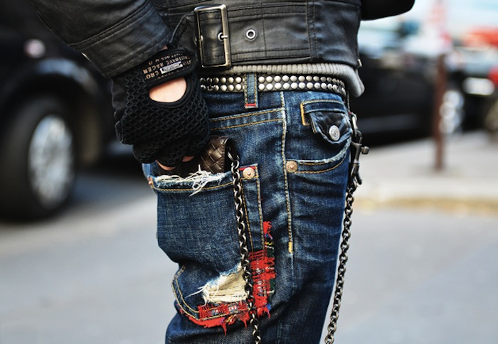 darned jeans