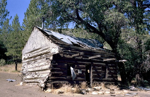 Baker Cabin, August, 1983