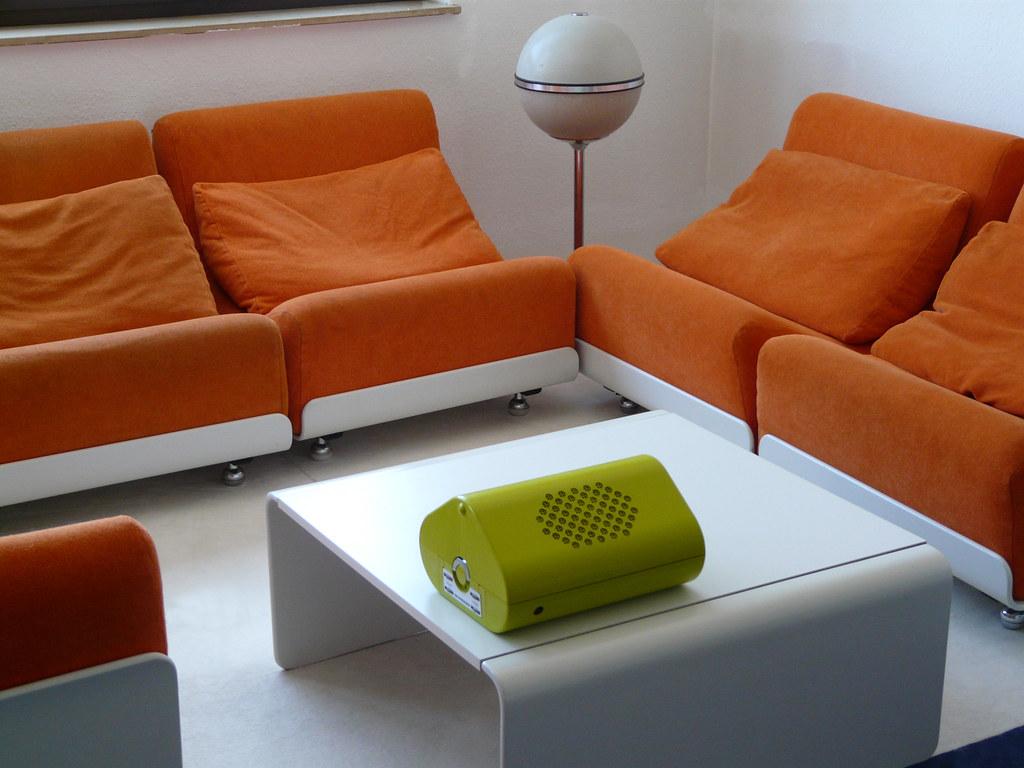 Sofa 70er free blhende ideen sofa er und orange mid for Couch 70er jahre