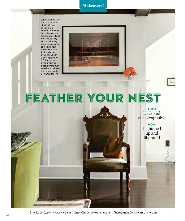 Nickey Kehoe Designed Home, House Beautiful, February 2012