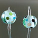 Earring pair : Aqua bubble