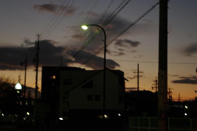 twilight walk home