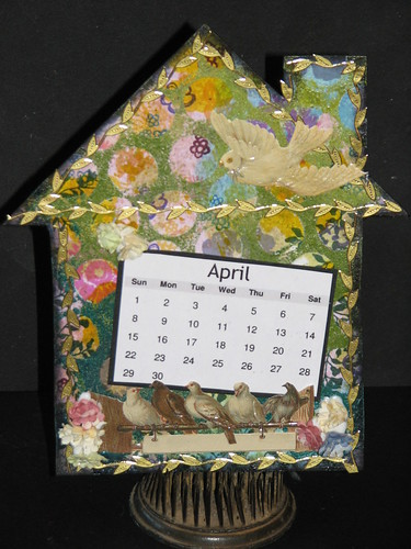 2012 Tech Calendar - April - Reverse Grid Stamping 013