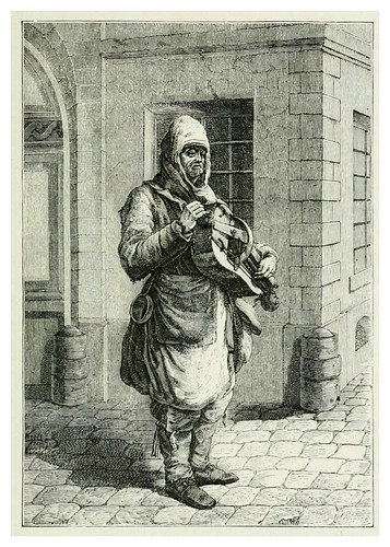 017-Musico callejero siglo XVII-Les harmonies du son et l'histoire des instruments de musique -1878