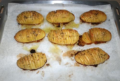 44 - Fächerkartoffeln fertig